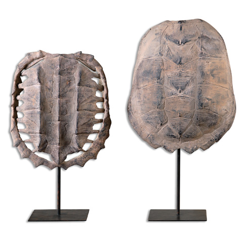 Uttermost Company - Turtle Shells Tabletop Décor - 19925