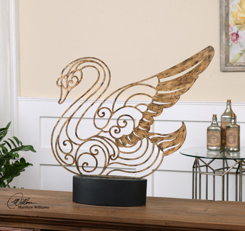 Uttermost Company - Resting Swan Tabletop Décor - 19938