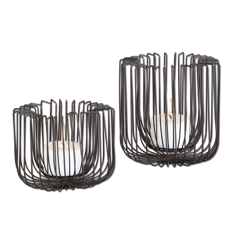 Uttermost Company - Flare Candleholders - 19974