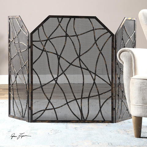 Uttermost Company - Dorigrass Fireplace Screen - 19982