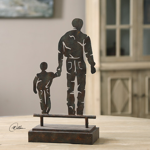 Uttermost Company - Father Son Walk Tabletop Décor - 20018