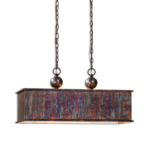 Uttermost Company - Albiano Rectangle Pendant - 21922