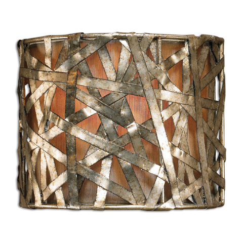 Uttermost Company - Alita Champagne Wall Sconce - 22464