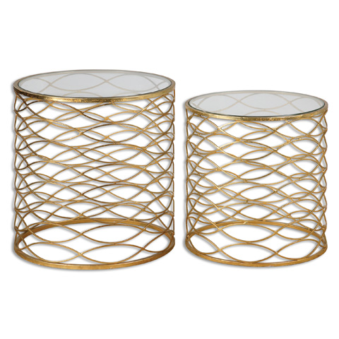 Uttermost Company - Zoa Accent Tables-Set of Two - 24434