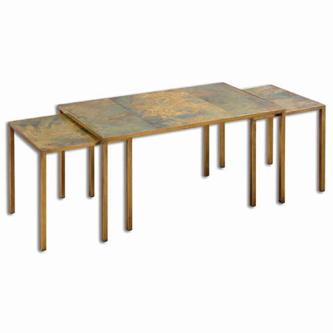 Uttermost Company - Couper Nesting Coffee Tables-Set of Three - 24450