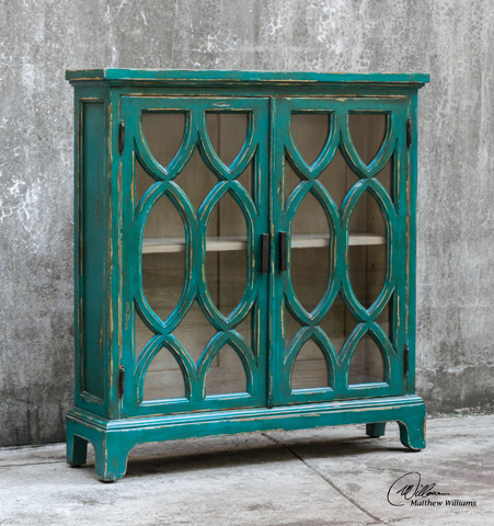 Uttermost Company - Theona Console Cabinet - 25648