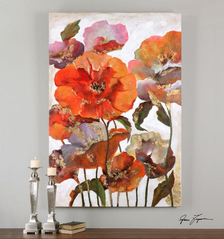 Uttermost Company - Delightful Poppies Art - 35307