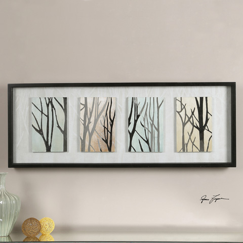 Uttermost Company - Tree Trunks On Display Art - 35320