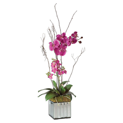 Uttermost Company - Kaleama Orchids Fuchsia - 60121