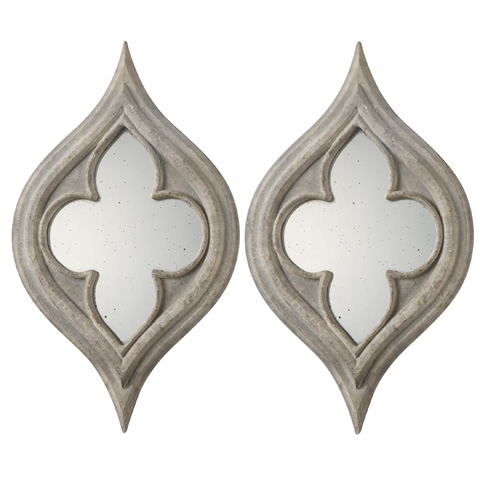 Uttermost Company - Pernilla Wall Mirrors-Set of Two - 09097