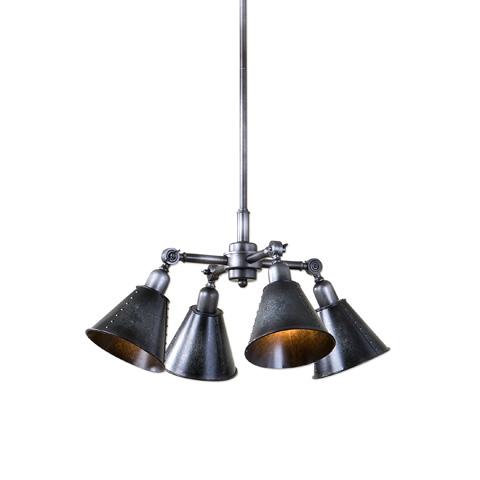 Uttermost Company - Fumant Four Light Pendant - 22075