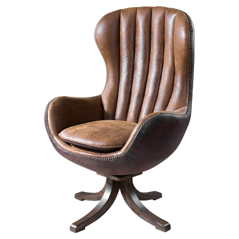 Uttermost Company - Garrett Swivel Chair - 23268