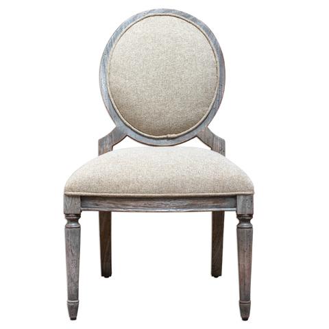Uttermost Company - Kamila Armless Chair - 23646