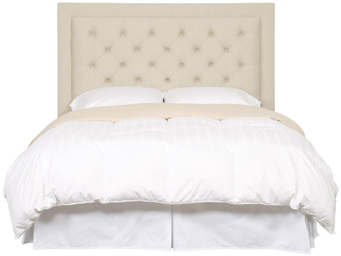 Vanguard Furniture - Tufted Queen Headboard - 513BQ-H