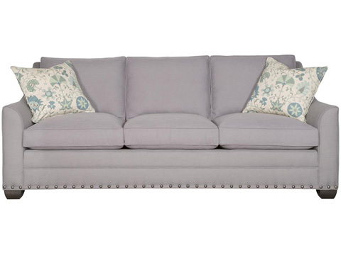Vanguard Furniture - Nicholas Three Cushion Sofa - 644-S