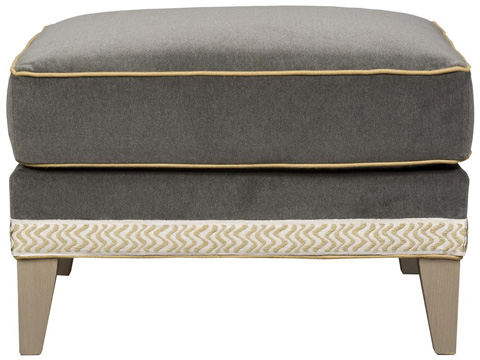 Vanguard Furniture - Onondaga Ottoman - 9034-OT
