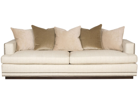 Vanguard Furniture - Scatterback Sofa with Thin Wood Base - W169-2S