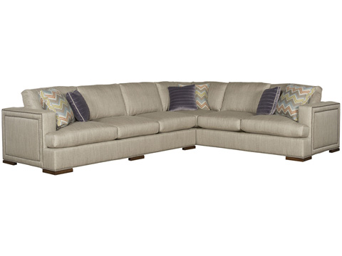 Vanguard Furniture - Two Piece Sectional Sofa - W179-SECT