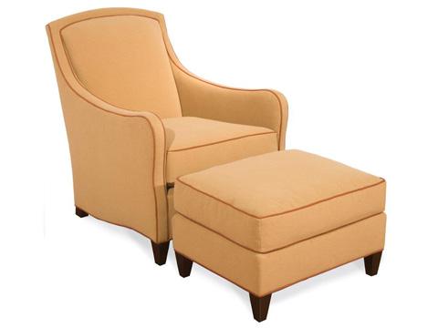 Vanguard Furniture - Ignatio Ottoman - 3355-OT