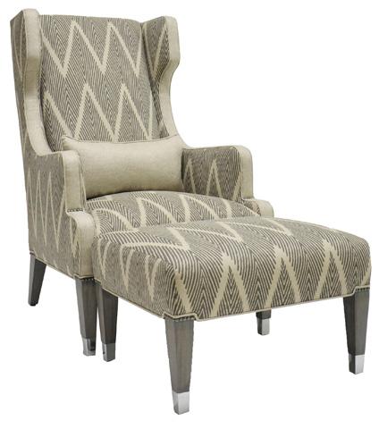 Vanguard Furniture - James Street Ottoman - 9007-OT