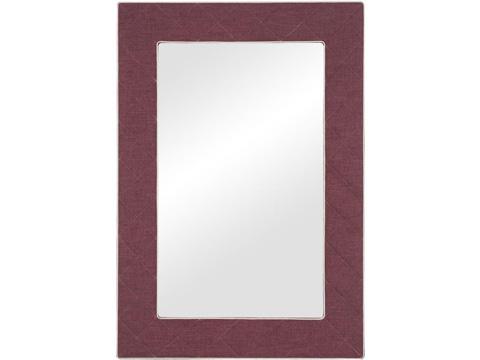 Vanguard Furniture - The Brewster Upholstered Mirror - 9406-MI
