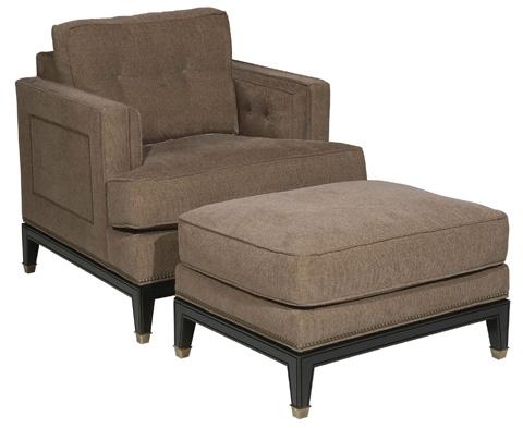 Vanguard Furniture - Whitaker Ottoman - C18-OT