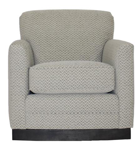 Vanguard Furniture - Paris Swivel Chair - W133-SCH