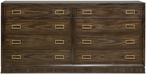 Vanguard Furniture - Bromeley Double Drawer Chest - W552P