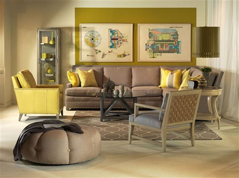 Image of Riverside Three Piece Living Room Collection