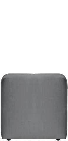 Image of Cube on Casters Ottoman