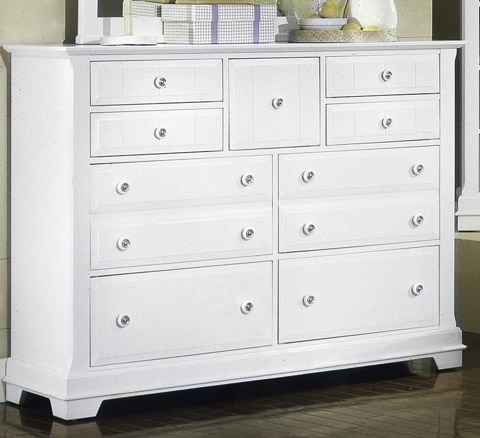 Image of Cottage Triple Dresser