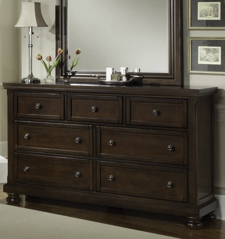 Image of Triple Dresser with 7 Storage Drawers