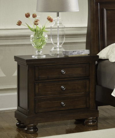 Image of Reflections Two Drawer Nightstand