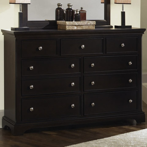 Image of Merlot Seven Drawer Dresser
