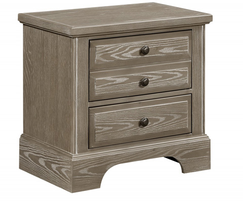 Vaughan Bassett - 2 Drawer Night Stand - BB81-226