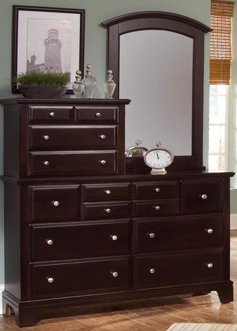 Vaughan Bassett - Ten Drawer Vanity Dresser - BB4-003