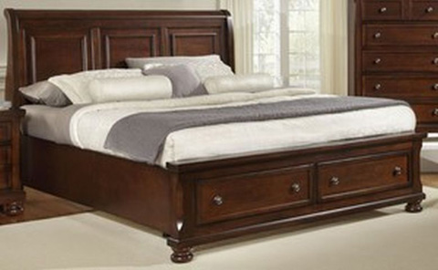 Image of Queen Storage Bed
