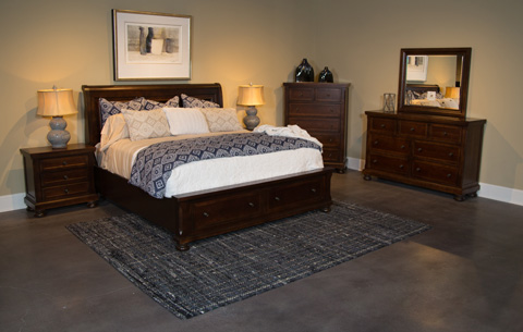 Image of Reflections Collection Queen Bedroom Set