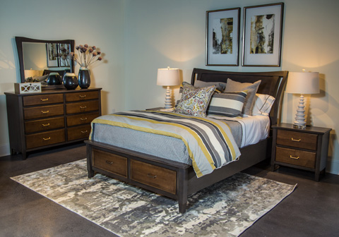 Image of Commentary Collection Queen Storage Bedroom Set