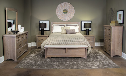 Image of Transitions Collection Queen Bedroom Set