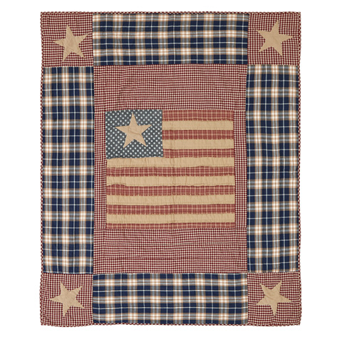 Image of Independence Quilted Throw