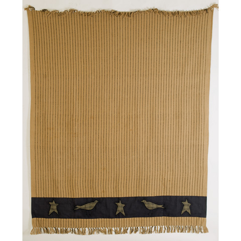 Image of Kettle Grove Applique Throw