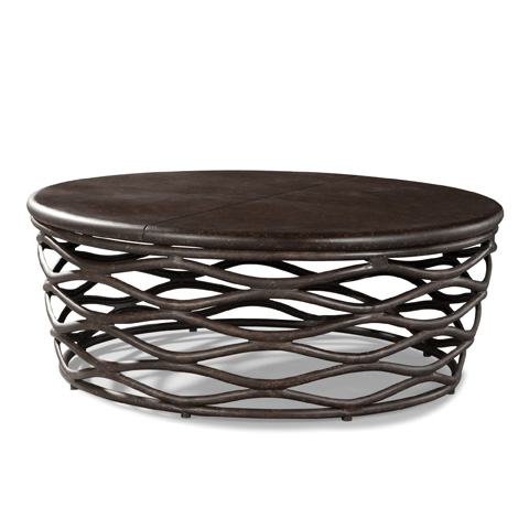 Lane Venture - Round Cocktail Table - 9206-65