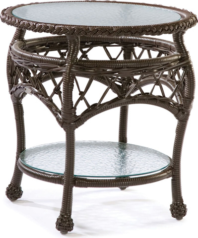 Lane Venture - Camino Real Round End Table - 9521-64