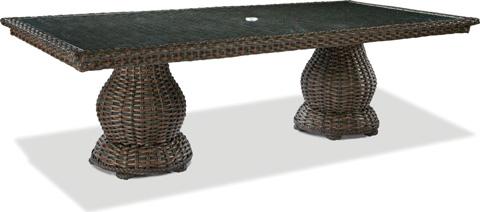 Lane Venture - South Hampton Double Pedestal Dining Table - 9790-95