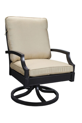 Image of Halyard Swivel Rocker Dining Chair