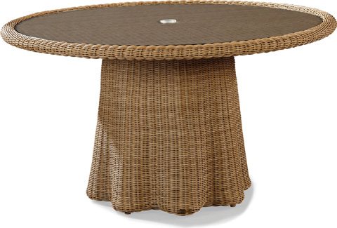 Image of Crespi Wave - Celerie Round Dining Table