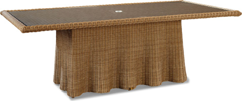 Image of Crespi Wave - Celerie Rectangular Dining Table