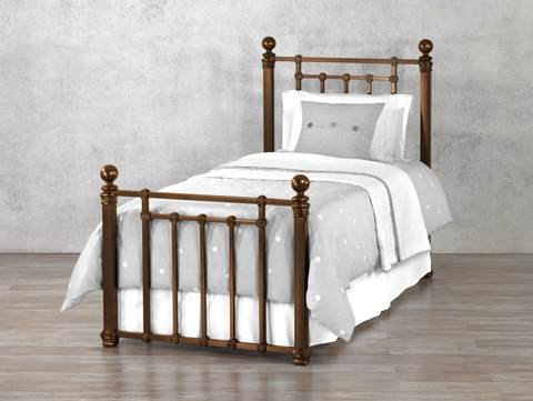 Wesley Allen - Hancock Iron Bed - 1074-CB