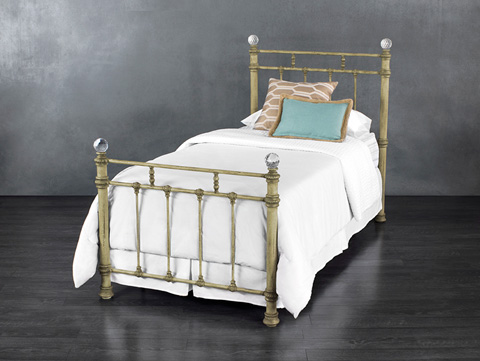 Wesley Allen - Remington Iron Bed - 1093-CB